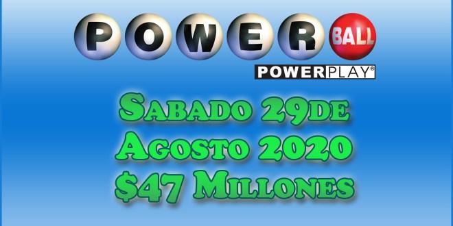 Resultados Powerball 29 de agosto 2020