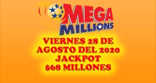 resultados mega million 28 de agosto