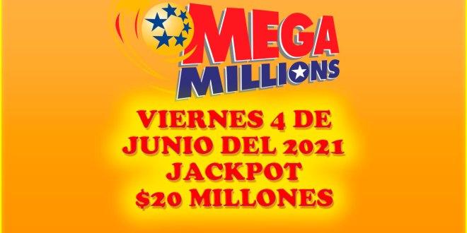 Resultados Mega Millions 11 de Junio del 2021 $20 Millones de dolares