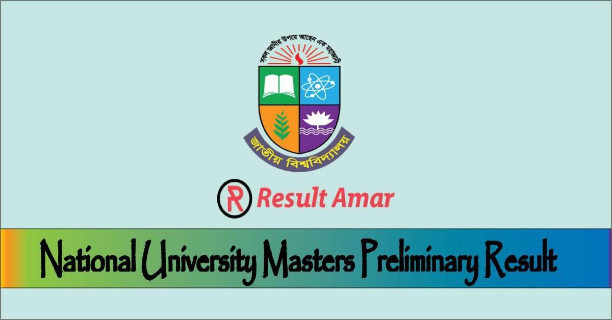 Masters Preli Result