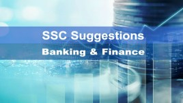ssc finance and banking suggestion
