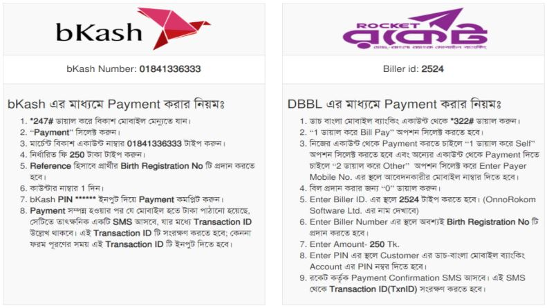 How to Pay Application Fee