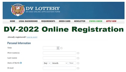 USA DV Lottery 2022