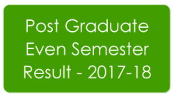 Post Graduate Result - 2018