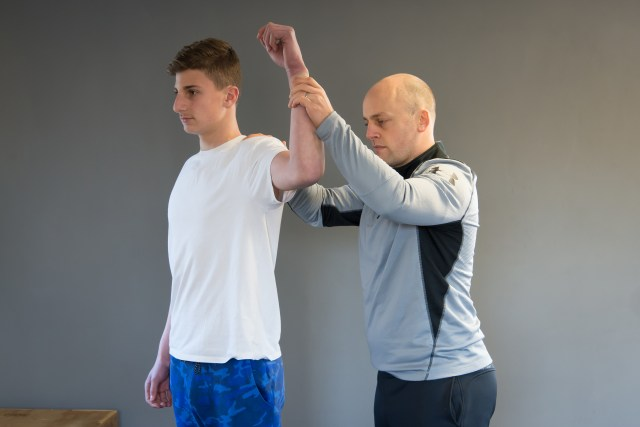 Personal training injury rehab shoulder Ware