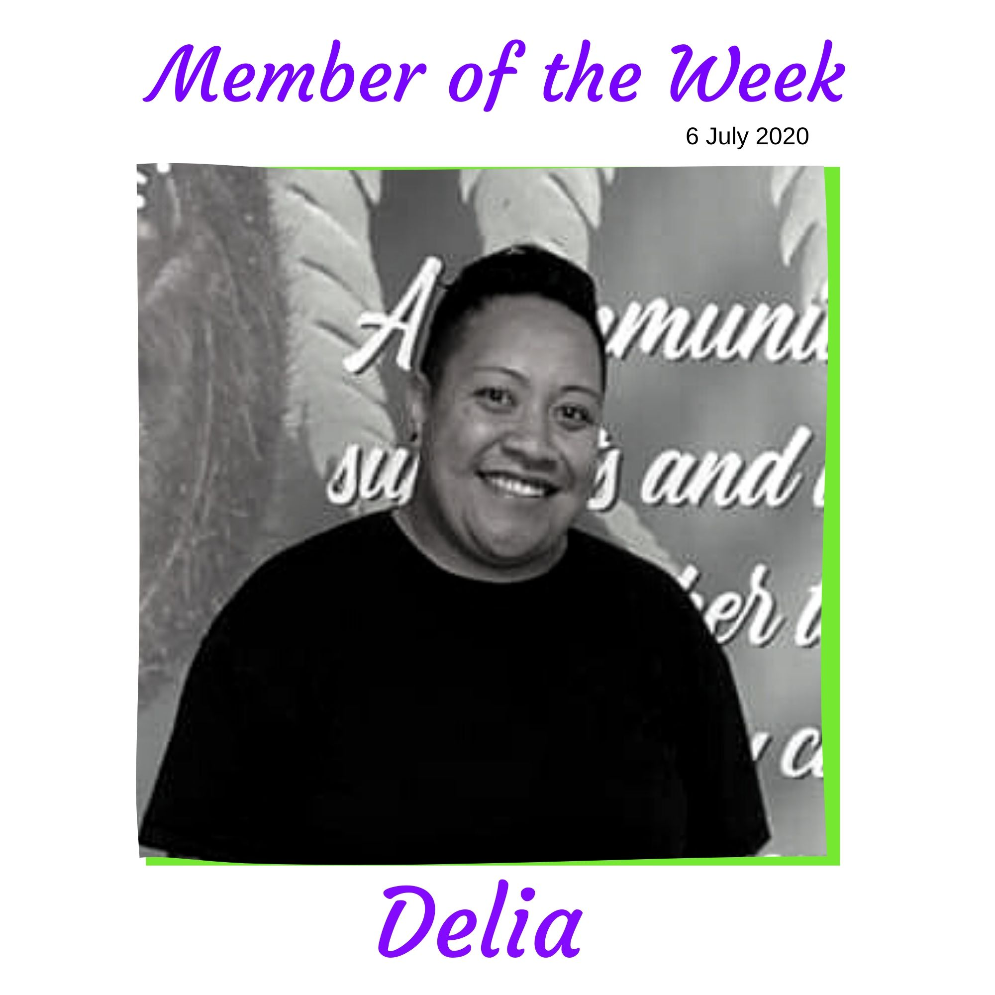 Member of the Week - Delia | Results Fitness for Women