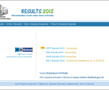 Kerala SSLC Results 2013 | School Wise Results