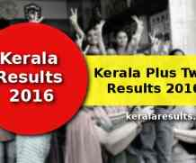 Kerala Plus Two Result 2016 – keralaresults.nic.in