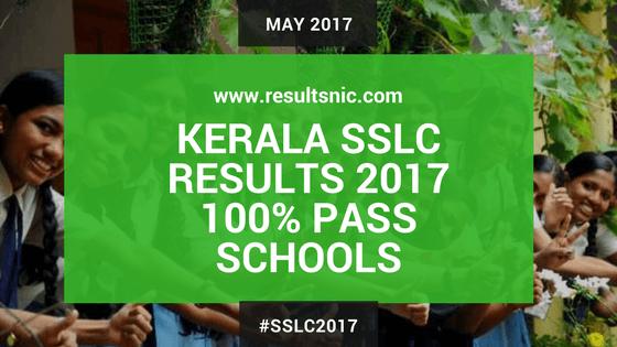 Kerala SSLC 2017 Full A+ Schools