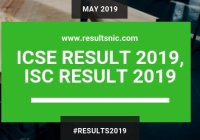 ICSE Results 2019
