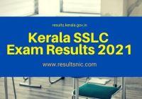 Kerala SSLC Result 2021
