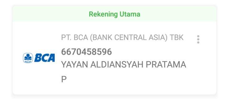 Rekening Tunggal Pembayaran Result Surabaya.com
