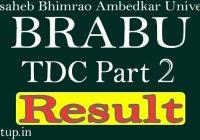 BRABU Part 2 Result 2020