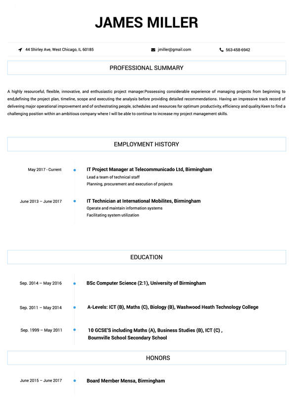 With more than 25 different fresher resume templates, you can create a resume for computer science students with a suitable resume format. Hr Approved Resume Templates For Any Job Online Resume Builder