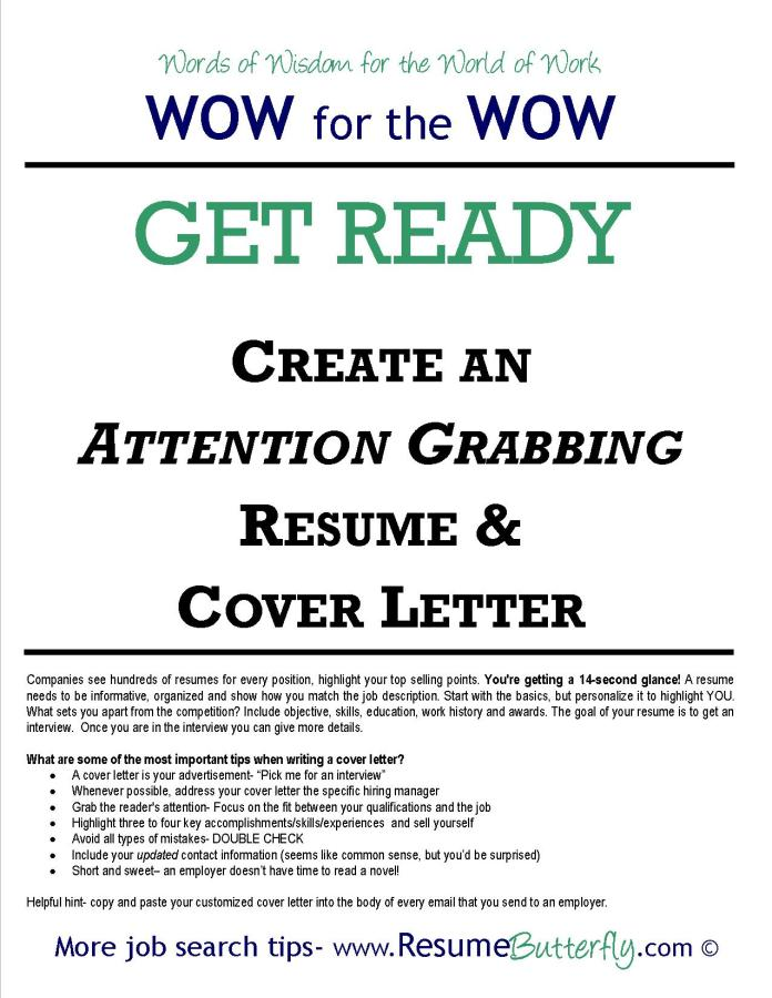 Wow For The Wow Job Search Skills Resume Butterfly Get Ready Resume And Cover Letter Resume Butterfly Transform Your Job Search Experienced Resume Writer Jessica Benzing