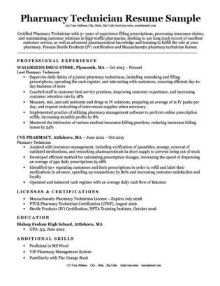 cover letter for pharmacy technician job | Anexa Cloud