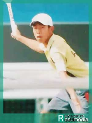 ひょっこりはん テニス
