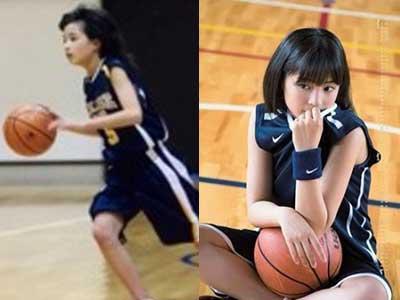 広瀬すず 小学校6年生 バスケットボール