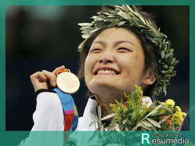 伊調馨 アテネオリンピック 金メダル