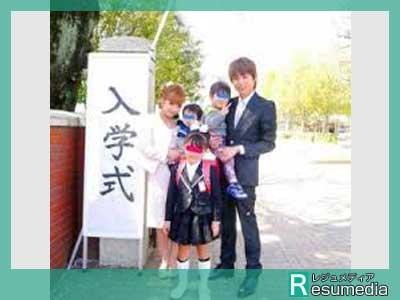 辻希美 長女 入学式