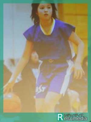 広瀬アリス 小学校 バスケットボール