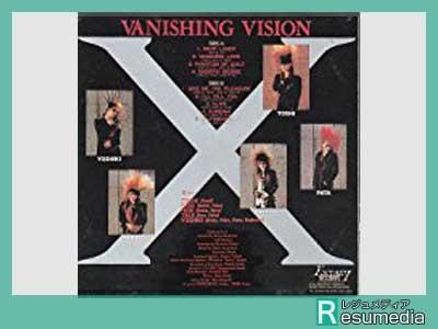 ToshI X-JAPAN セカンド・アルバム Vanishing-vision