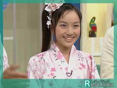 百田夏菜子 中学3年生 静岡テレビ出演