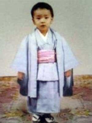 YOSHIKI 幼少期 七五三