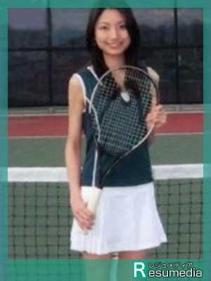 三田友梨佳 高校 テニス部