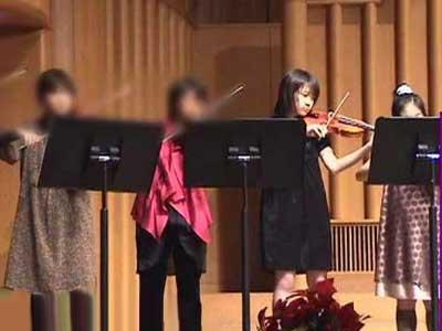 秋元真夏 小学校 バイオリン