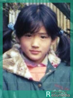 綾瀬はるか 小学校 9歳