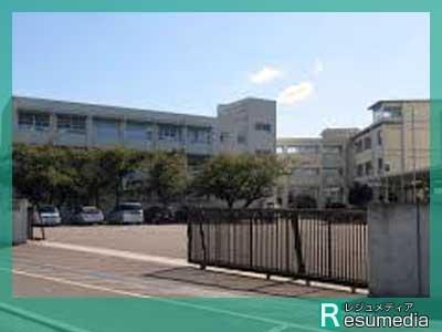 沢口靖子 上野芝中学校