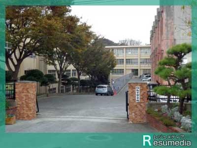 岡田健史 和白丘中学校