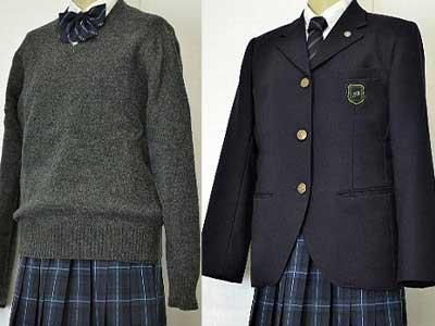 福岡講倫館高校 制服参考画像