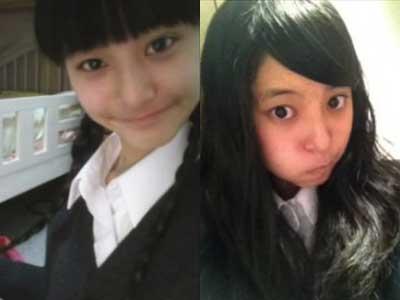 新木優子 中学時代