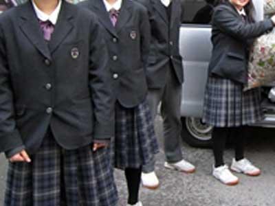 金沢錦丘中学校の制服