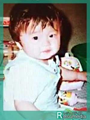 田中圭 幼少期 10ヶ月