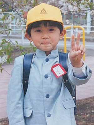 吉沢亮 小学生時代 入学式