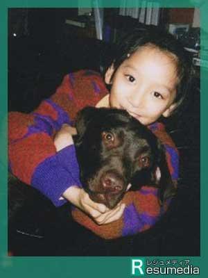 杏 小学生時代 犬