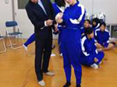 玄界高等学校 体操服