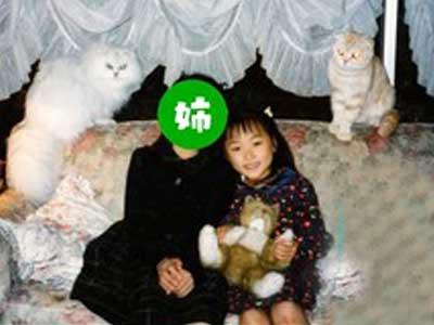 菅井友香 幼少期