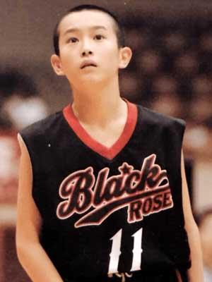 杉野遥亮 小学校時代 バスケットボール