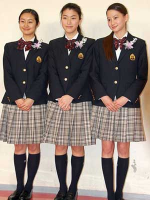河北麻友子 堀越高校 卒業式