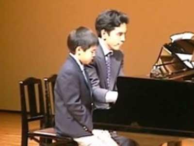 片寄涼太 小学生時代 ピアノ