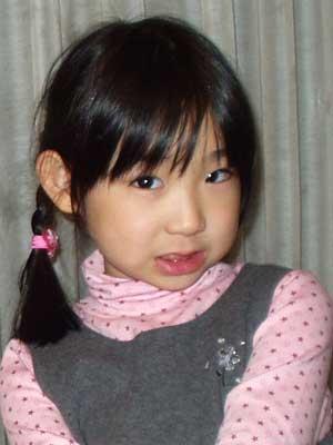 モンスターアイドルハナエ 幼少期 5歳