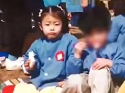 渡辺直美 幼稚園時代