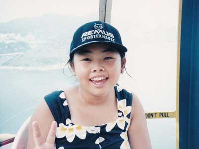 渡辺直美 小学生時代 10歳