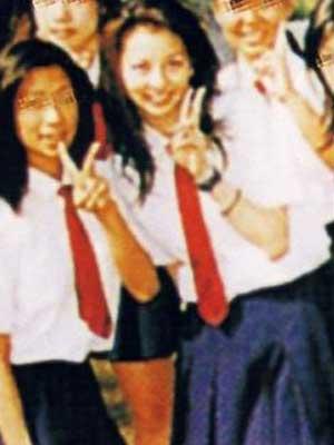 香里奈 高校時代