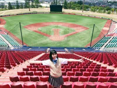 彩香 高校野球 イメージガール