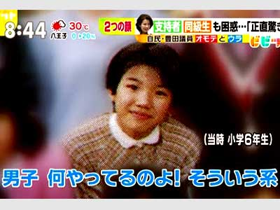 豊田真由子 小学生時代